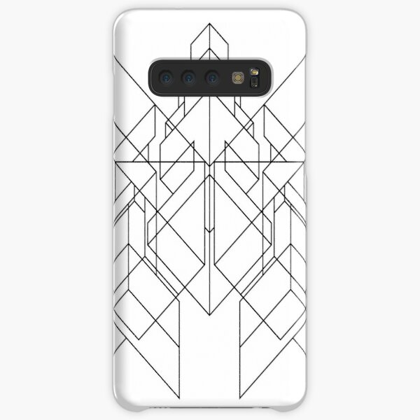 Claw(s) #1 (Isometric Abstraction) Samsung Galaxy Snap Case