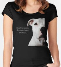 END BSL Women's Fitted Scoop T-Shirt