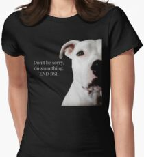 END BSL Women's Fitted T-Shirt