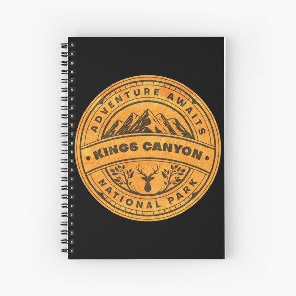 Kings Canyon National Park Adventure Awaits Spiral Notebook