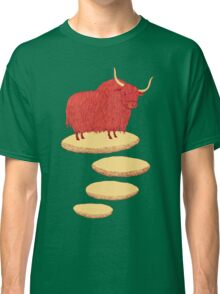 Yak and Stepping Stones Classic T-Shirt