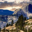 Half Dome from Olmsted Pt. by Nancy Richard