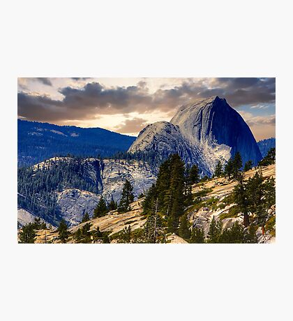 Half Dome from Olmsted Pt. Photographic Print
