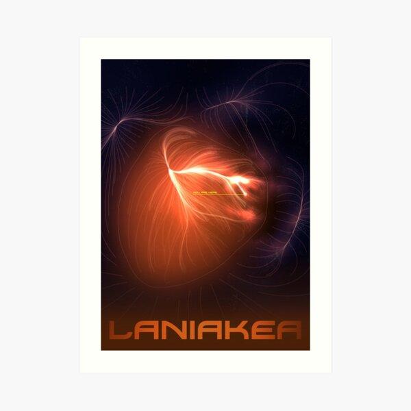 Laniakea - You Are Here - Version 1 Art Print