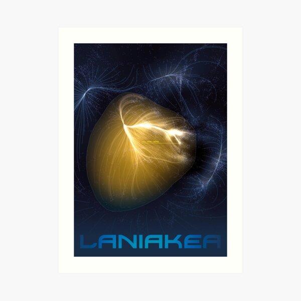Laniakea - You Are Here - Version 2 Art Print