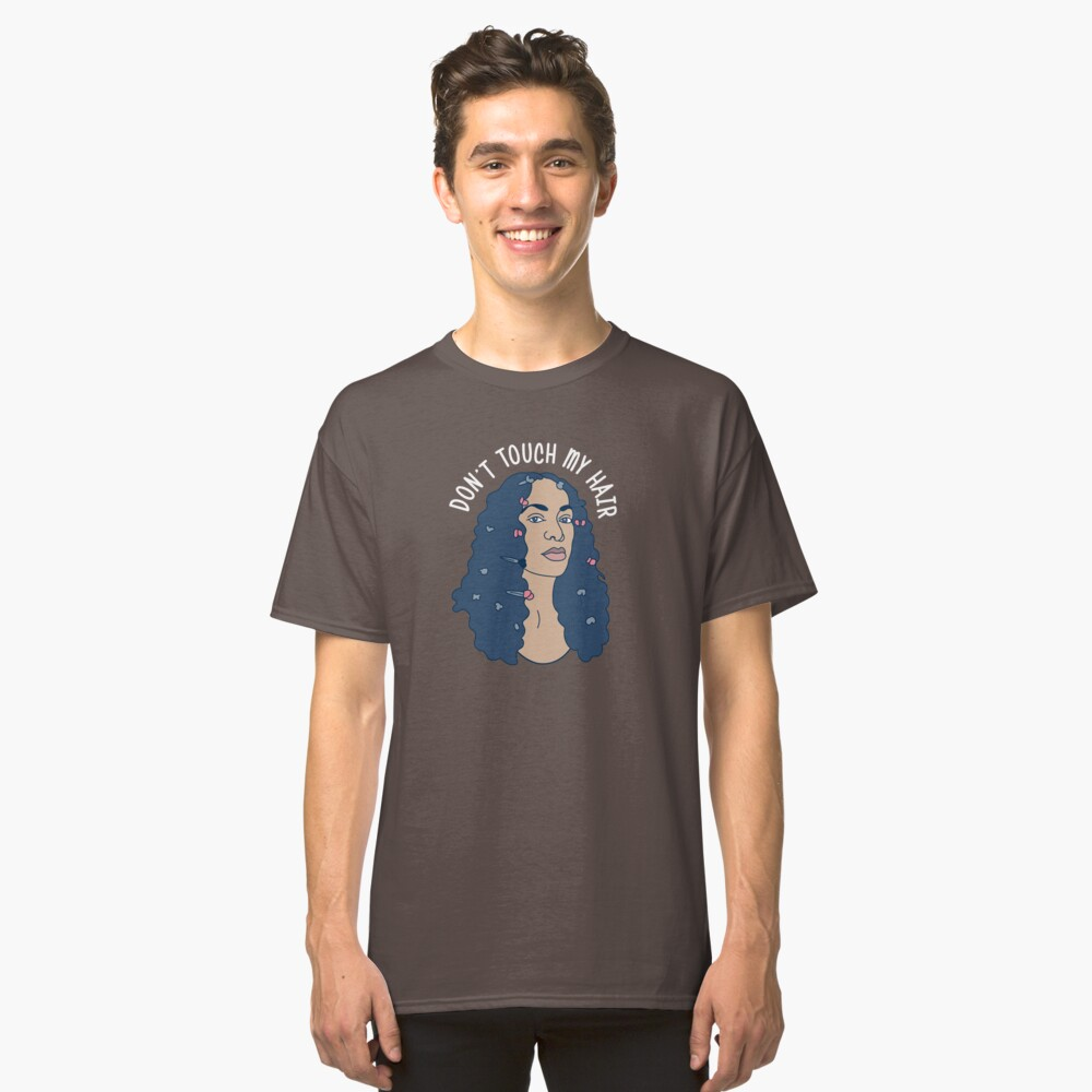 Solo Don't Touch My Hair Classic T-Shirt