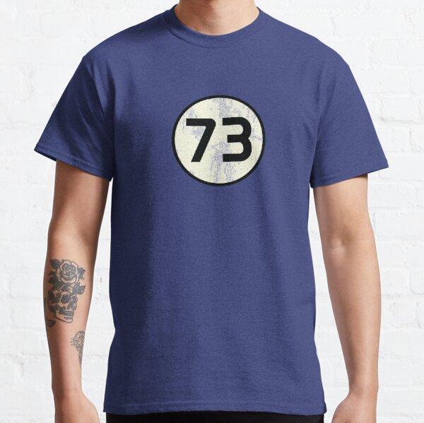 73 Sheldon en détresse T-shirt classique