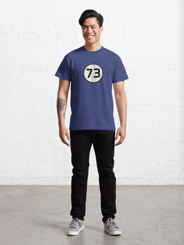 Alternate view of 73 Sheldon Distressed Classic T-Shirt