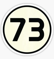 73 Sheldon Distressed Sticker