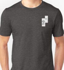 Camiseta ajustada Pervy Panels (solo palabras)