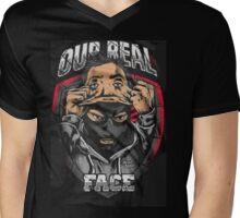 """ULTRAS - HOOLIGANS """"Real Face"""" Mens V-Neck T-Shirt"""
