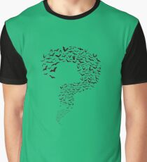 Riddler Bats question mark Graphic T-Shirt