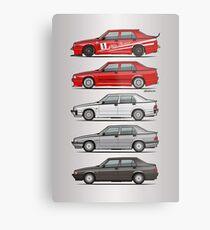 Stack of Alfa Romeo 75 Tipo 161, 162B Milanos  Metal Print