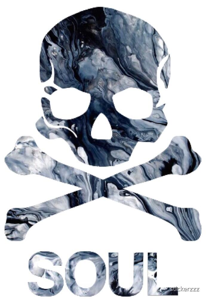 «Cráneo del alma» de stickerzzz