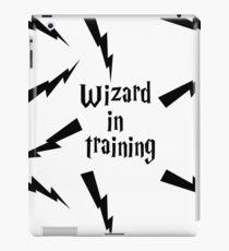 Wizard in training  iPad Case/Skin