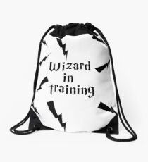 Wizard in training  Drawstring Bag