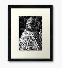 Saint Mary 1 BW Framed Print