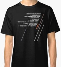 Defenders of the Faith Tracklist Classic T-Shirt