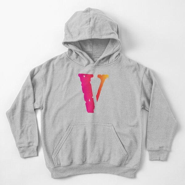 Vlone Sudadera con capucha para niños