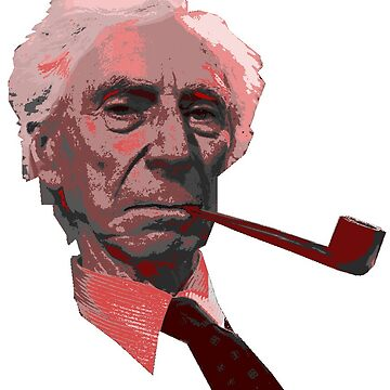 Bertrand Russell by Bulwarky