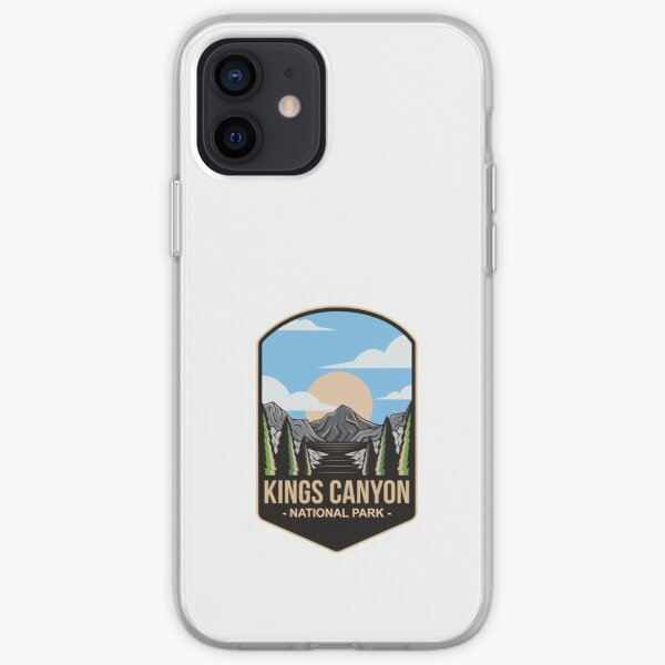 Kings Canyon National Park, For Mountain Lovers, Camping Lovers iPhone Soft Case