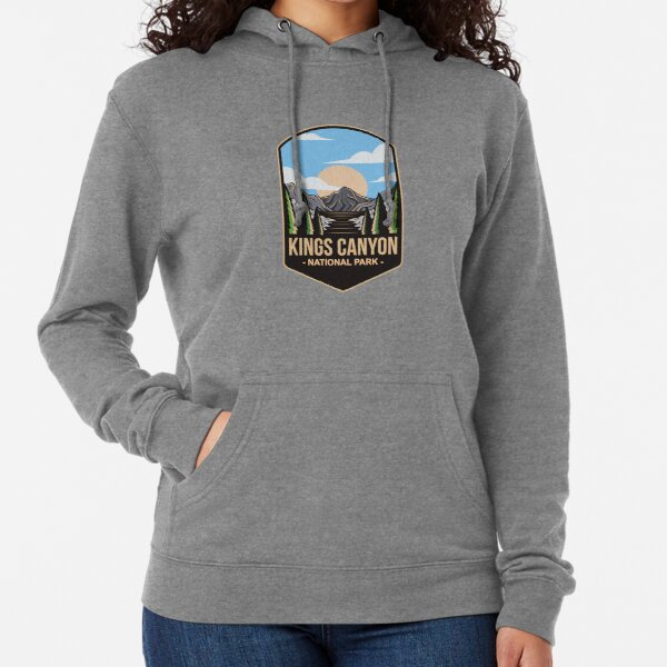 Kings Canyon National Park, For Mountain Lovers, Camping Lovers Lightweight Hoodie