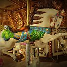 The Beautiful Carousel Horse.... by DonnaMoore