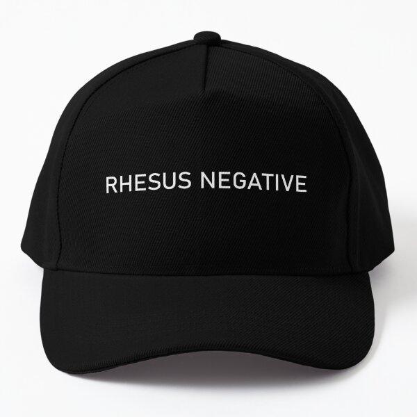 Rhesus Negative Baseball Cap