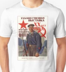 Soviet Propaganda - Art Exhibition: 20 Years of the Red Army (1938) T-Shirt
