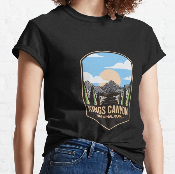 Kings Canyon National Park, For Mountain Lovers, Camping Lovers Classic T-Shirt