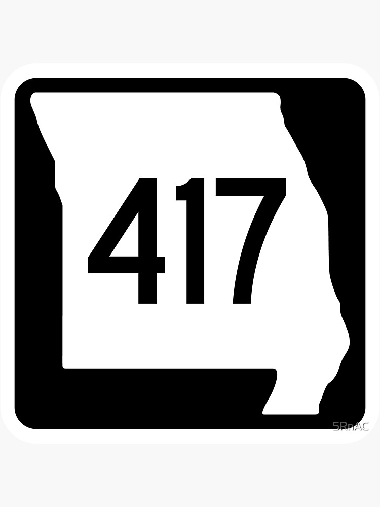 Missouri State Route 417 (Area Code 417) by SRnAC