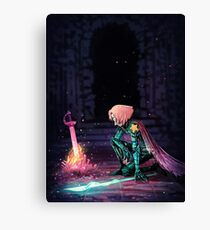 Pearl knight  Canvas Print
