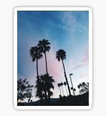 California Palm Trees Sticker