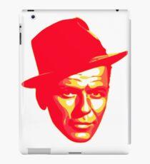 Frank Sinatra Print iPad Case/Skin