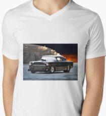 1955 Chevrolet 'One Sinister Chevy' Mens V-Neck T-Shirt