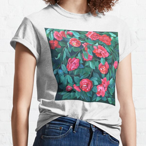 """""""Camellias, lips and berries"""" Classic T-Shirt"""