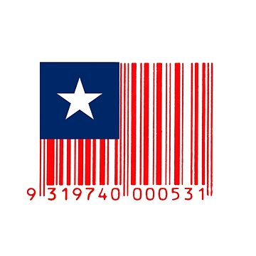 American Flag Barcode by snailgazer