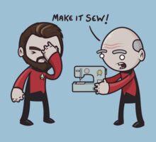 Make It Sew! - Star Trek Inspired | Women's T-Shirt
