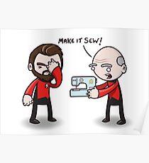 Make It Sew! - Star Trek Inspired Poster