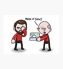 Make It Sew! - Star Trek Inspired Photographic Print