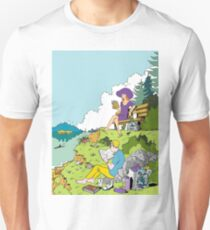 Reading with a view  T-Shirt