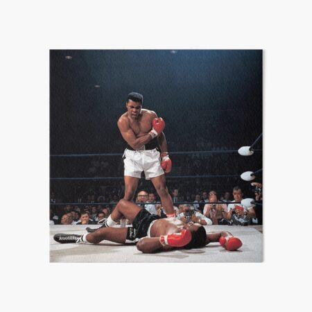 Muhammed Ali Knock Out Art Board Print