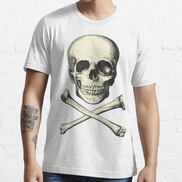 Vintage Skull and Crossbones. So scary! Essential T-Shirt