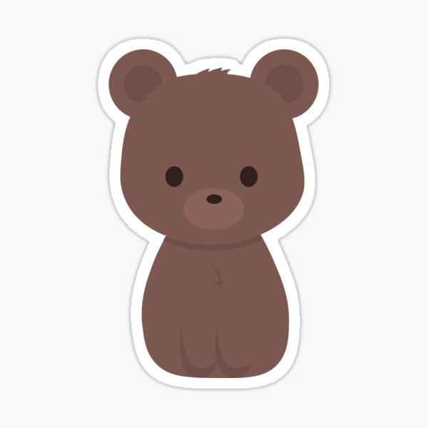 Baby Bear Stickers Redbubble