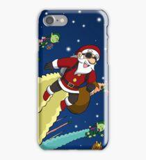 Jet Pack Santa Squadron iPhone Case/Skin