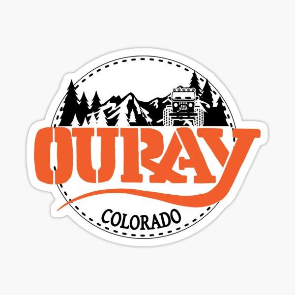 Ouray Colorado, Overlanding Camping Trip Sticker