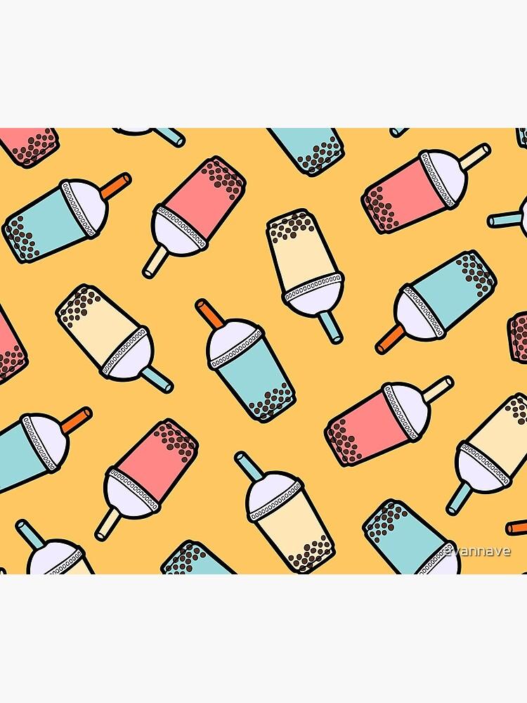 Bubble Tea Pattern by evannave