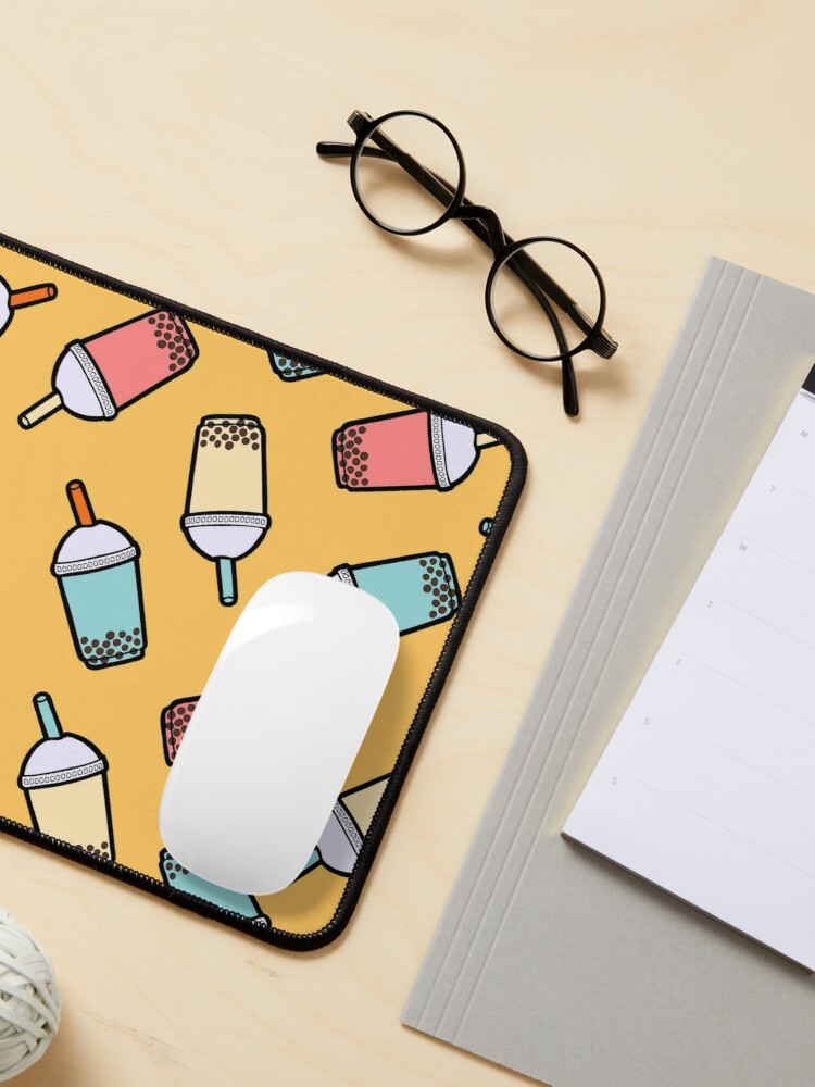Alternate view of Bubble Tea Pattern Mouse Pad