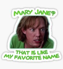 Shaggy and Mary Jane Sticker