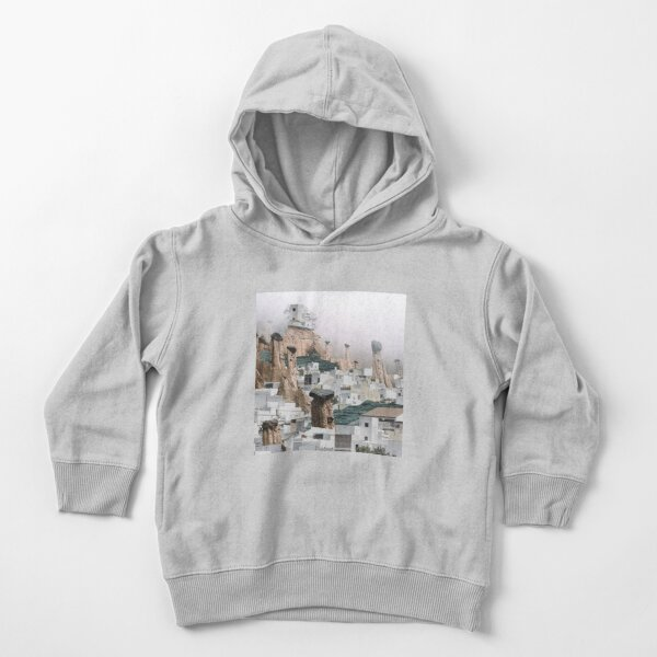 Down the mountainside Toddler Pullover Hoodie